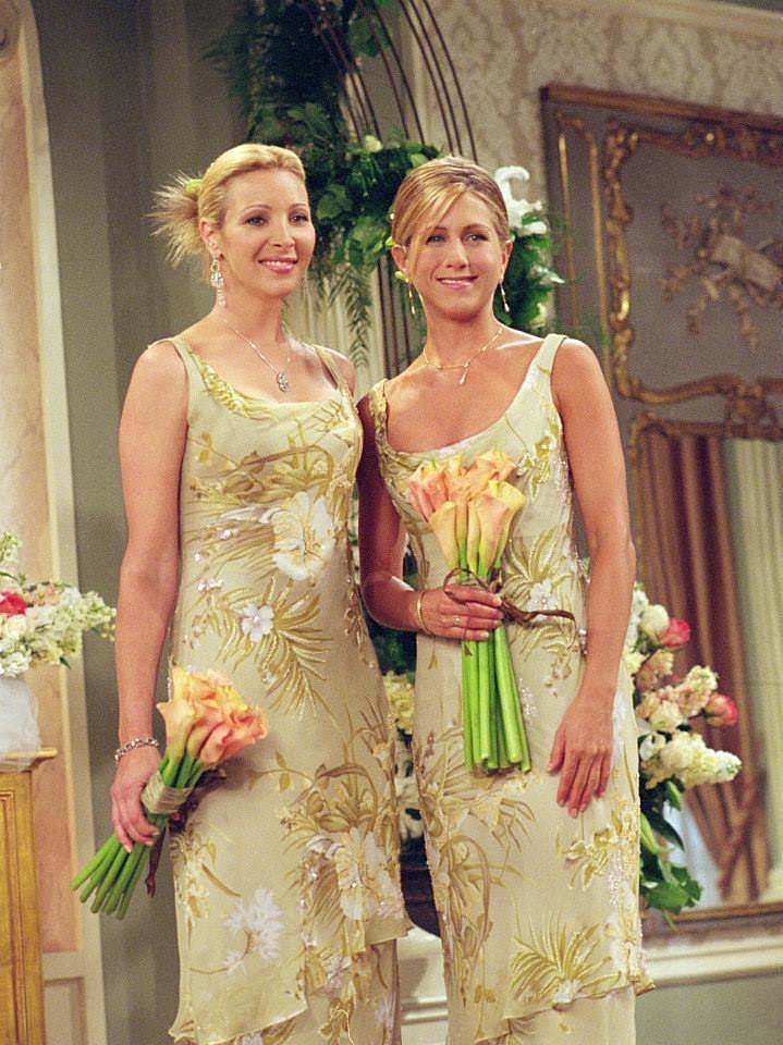 Jennifer aniston39s best friends style popsugar fashion for Friends wedding dress