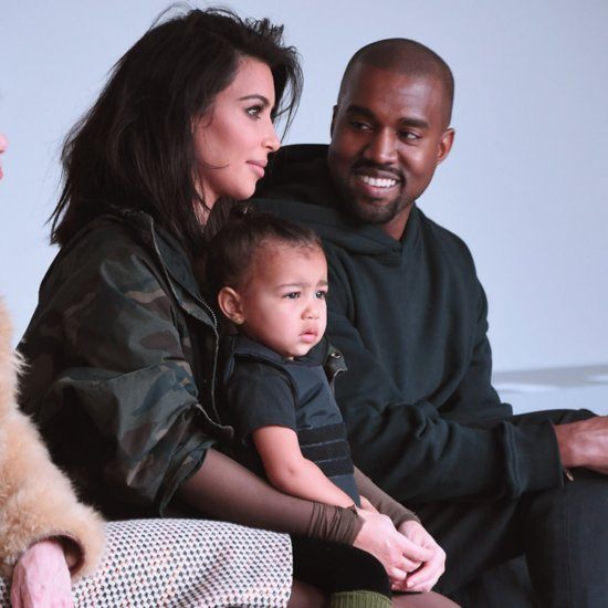 Celebrity Front Row at Kanye West Adidas NYFW Runway Show