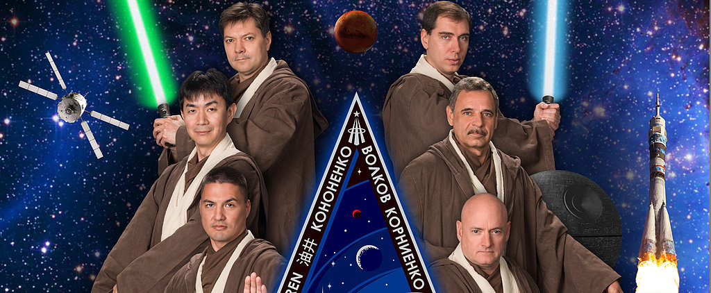 Astronauts Dressed as Jedi Is the Best NASA Photo Ever