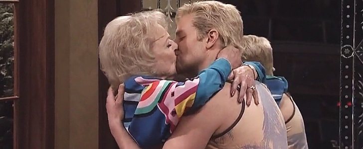 Betty White Just Lived Your Dream of Making Out With Bradley Cooper on SNL