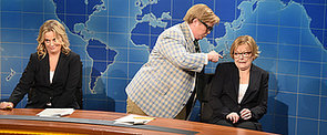 """Yes! Tina Fey, Amy Poehler, and Jane Curtin Returned to the """"Weekend Update"""" Desk"""