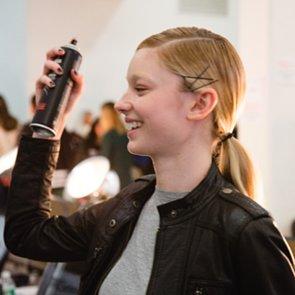 Model Ponytails at Misha Nonoo New York Fashion Week