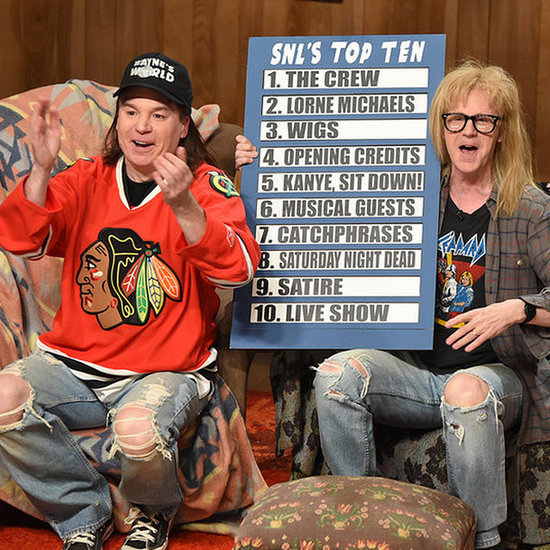 Wayne's World on SNL's 40th Anniversary Show | Video
