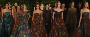Christian Siriano Takes Us Into the Jungle For Fall 2015