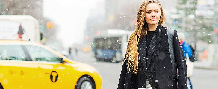 Street Style Babes Who Will Inspire Your Snow-Day Beauty Look