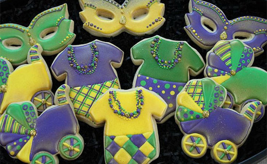 mardi gras baby showers to celebrate fat tuesday