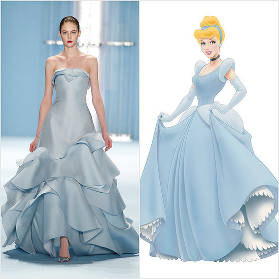 If Disney Princesses Shopped the Autumn 2015 Runways