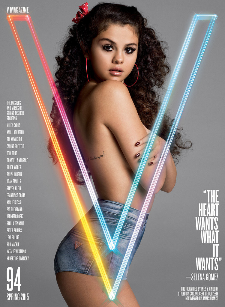 Selena Gomez goes topless, talks about how she doesn't regret the Bieber relationship
