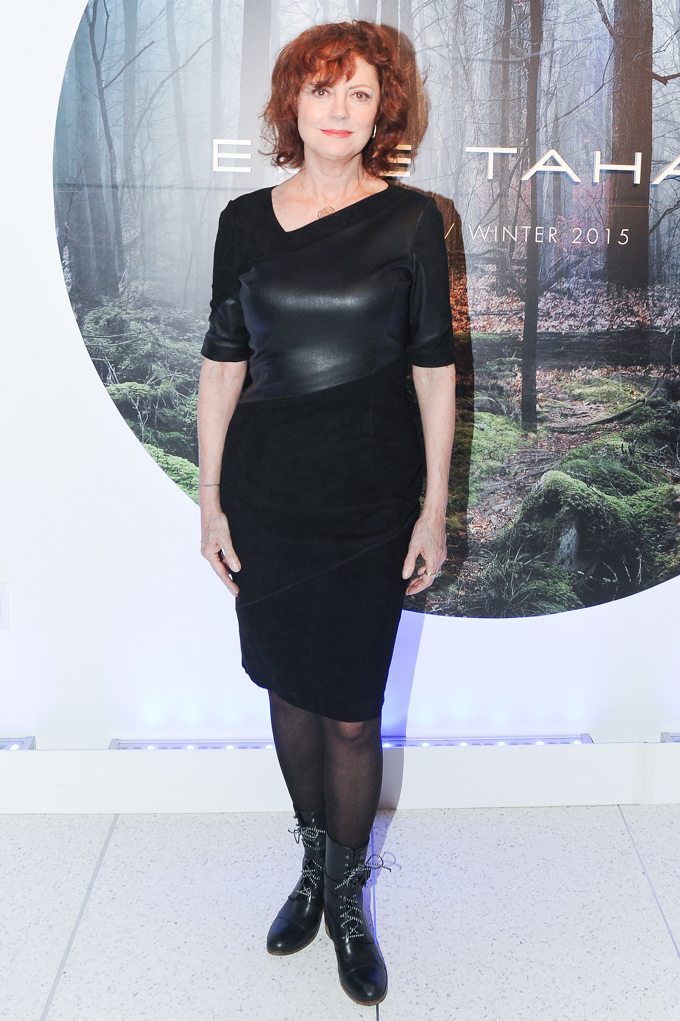 Susan Sarandon At Nyfw The Stars Continue To Catch Our