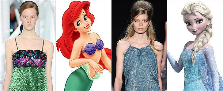 If Disney Princesses Shopped the Fall 2015 Runways