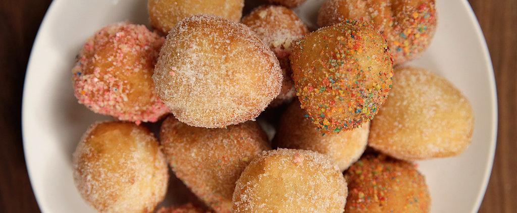 Sweet Hack: 3-Minute Doughnut Holes