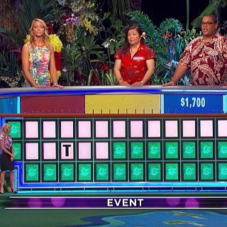 Contestant on Wheel of Fortune Solves Puzzle With One Letter
