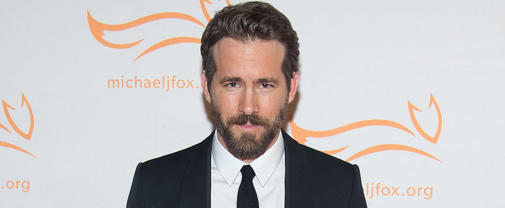 Ryan Reynolds Shares a Supercute (and Hilarious) Throwback Photo