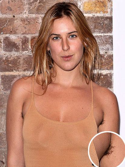 Scout Willis's Armpit Hair Is a Key Part of Her New Look