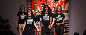 Naomi Campbell and Her Celebrity Friends Start London Fashion Week With a Bang