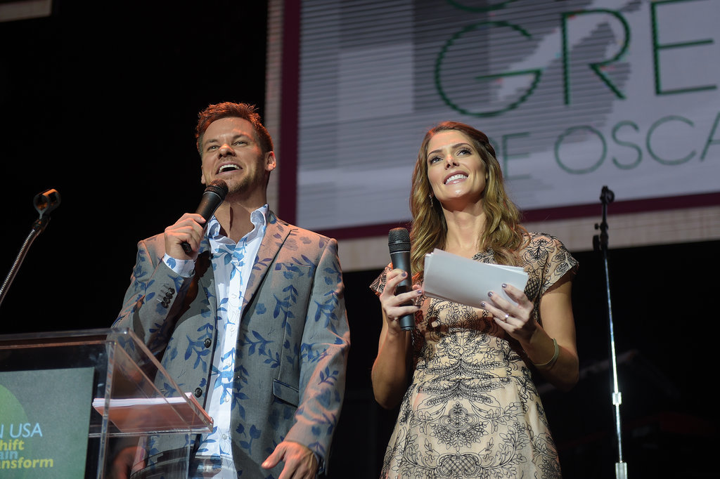 Theo Von and Ashley Greene took the stage at Global Green USA's annual party at Avalon.