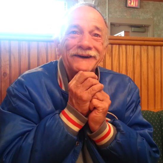 Viral Video Grandfather Meets Infant Grandson