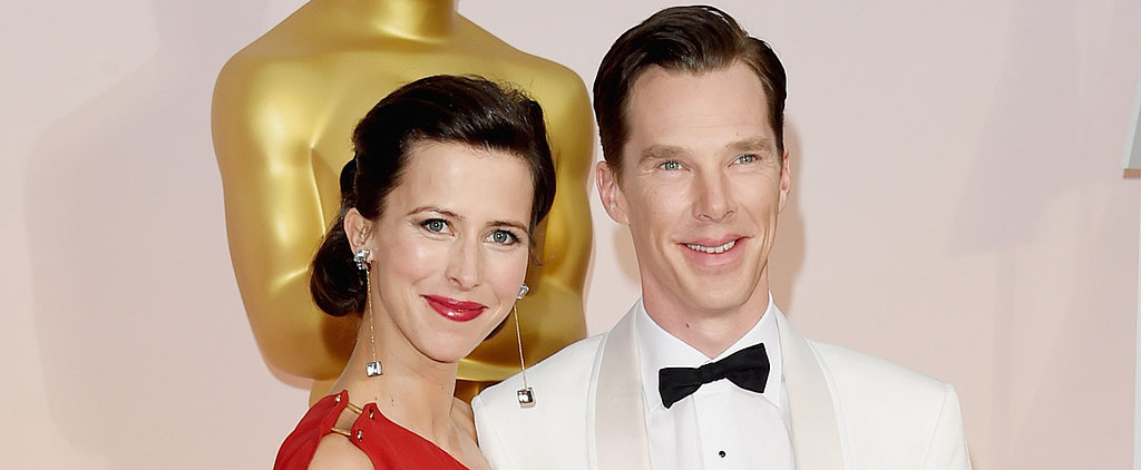 Benedict Still Won With His Gorgeous Wife by His Side at the Oscars
