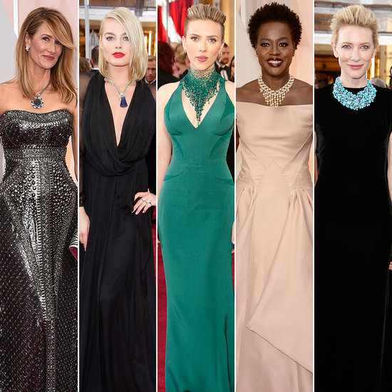 Statement Necklaces at the Oscars 2015