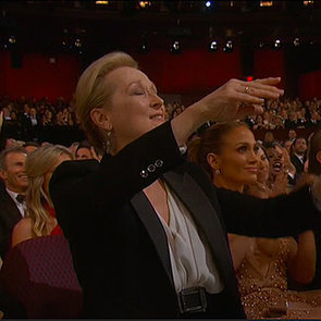 Meryl Streep Reaction to Patricia Arquette's Oscars Speech