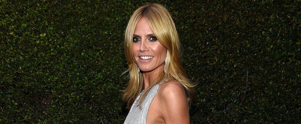 Is Heidi Klum's Sheer Dress Too Sexy For the Oscars?