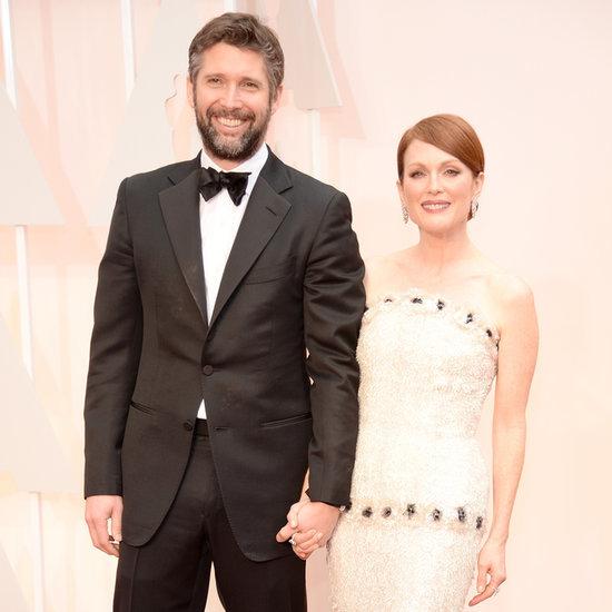 Julianne Moore on Her Husband's Oscar Support 2015