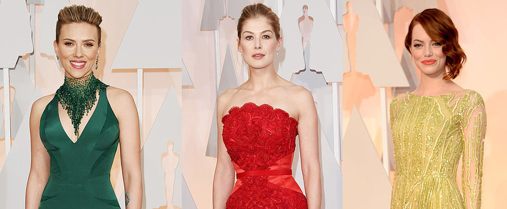 The Most Colorful Dresses of Award Season
