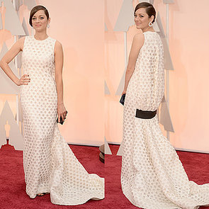 Marion Cotillard's Dior Dress at the Oscars 2015