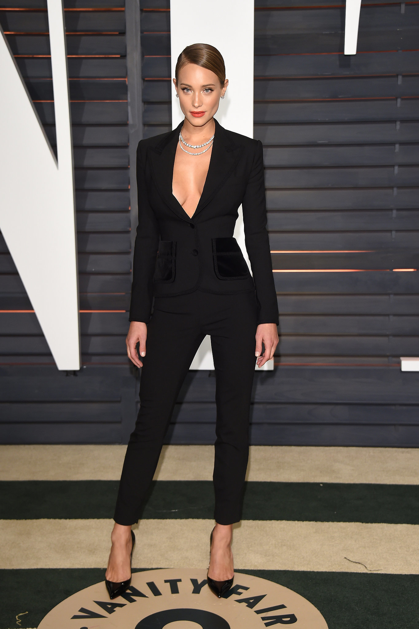 Awesome How To Stand Out Womens Black Pants Suits For Fall 2017