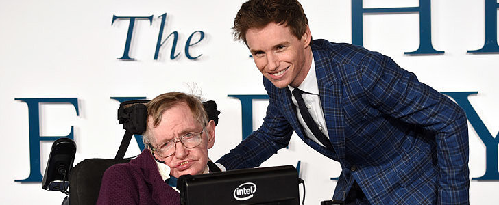 Stephen Hawking's Sweet Reaction to Eddie Redmayne's Oscar Win
