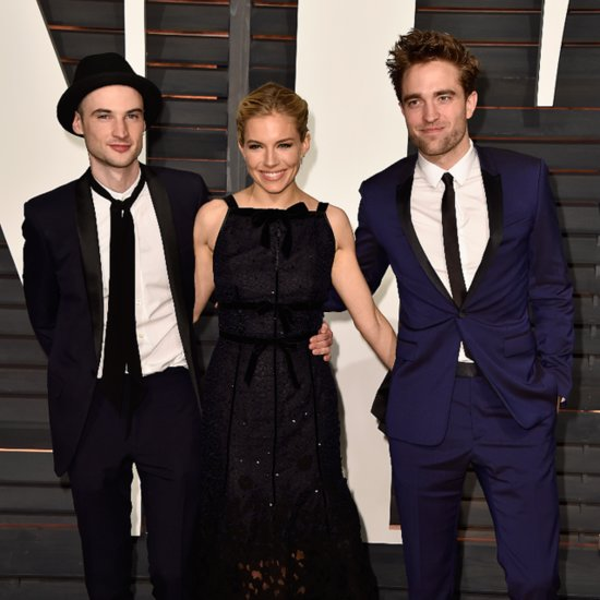 Robert Pattinson Sienna Miller 2015 Vanity Fair Oscars Party