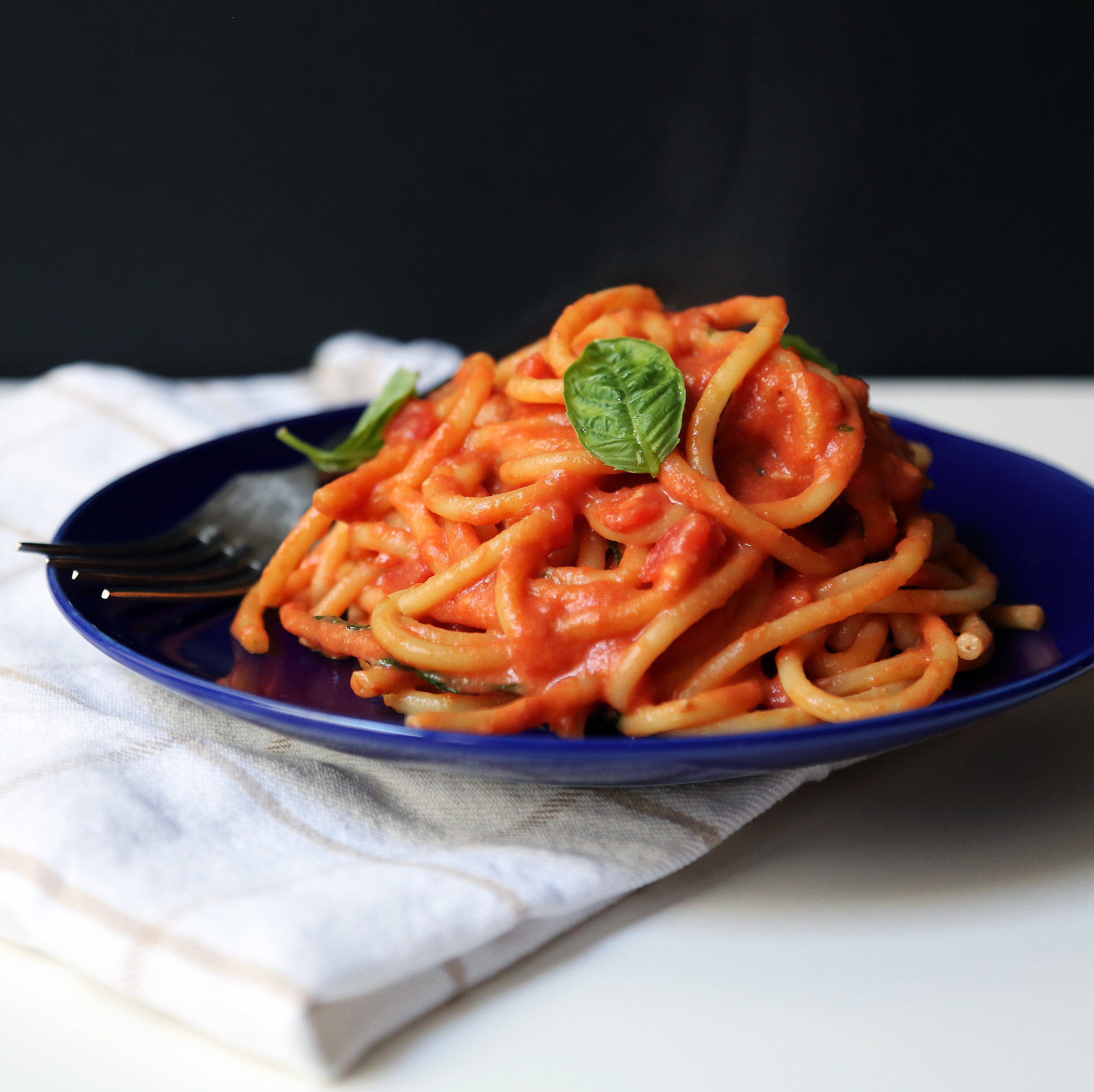 Vegetarian tomato pasta recipes easy
