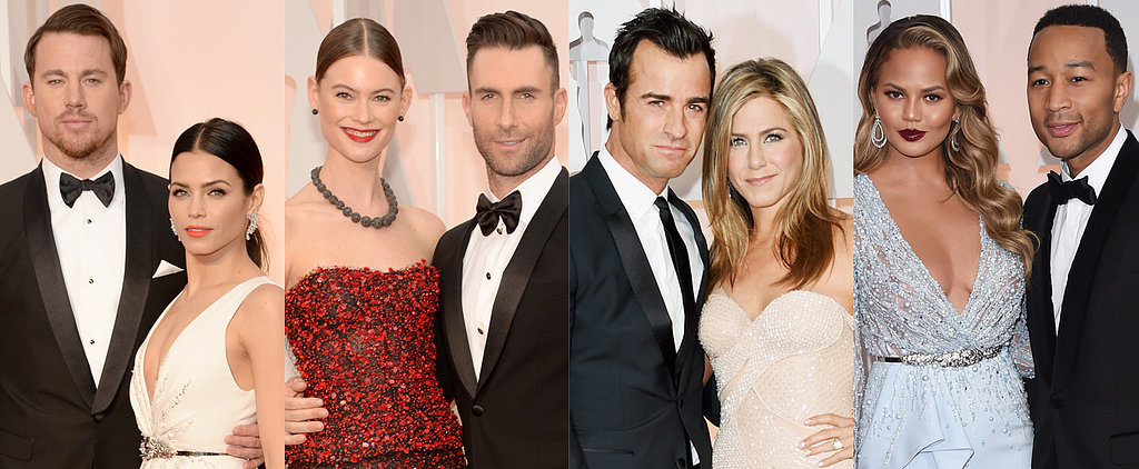 Celebrity Couples Make the Oscars a Red-Hot Affair
