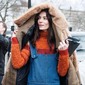 London Fashion Week Street Style Beauty