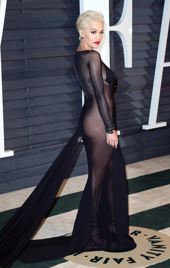Rita Ora at the Vanity Fair Oscar Party