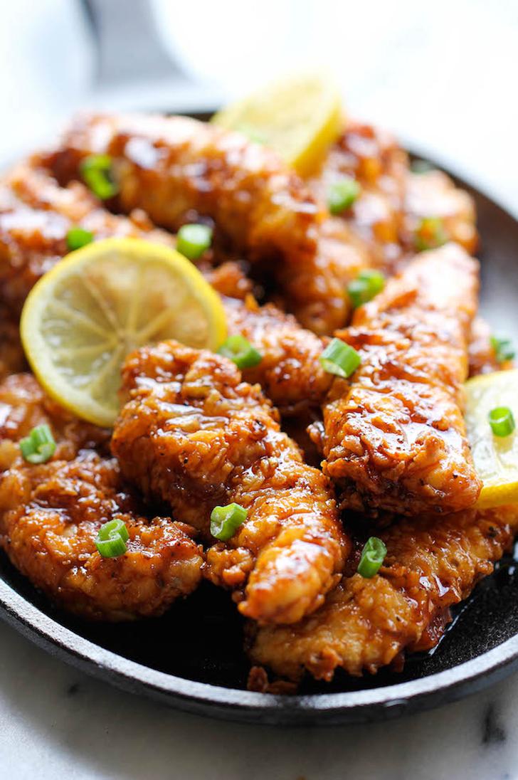 Asian Lemon Chicken Tenders | 28 Boneless, Skinless Chicken Breast ...