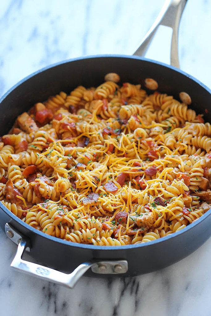 Barbecue Chicken Pasta