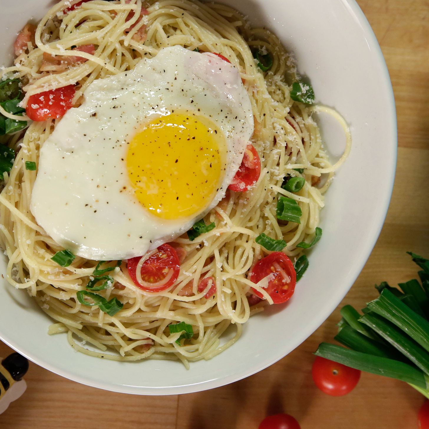 Popsugar Food: Breakfast Pasta Recipe
