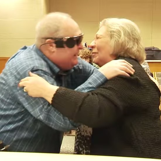 Blind Man Sees For First Time With Bionic Eye