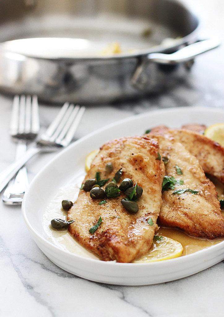 5-Ingredient Chicken Piccata