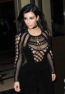 Kim-Kardashian-showed-quite-lot-skin-she-surfaced-London