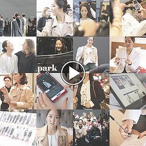 Park & Cube At London Fashion Week