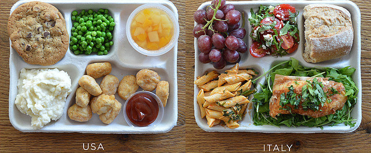 School Lunches From Around the World Put America's to Shame