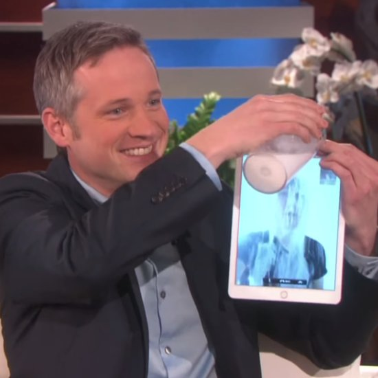 iPad Magician Simon Pierro on Ellen