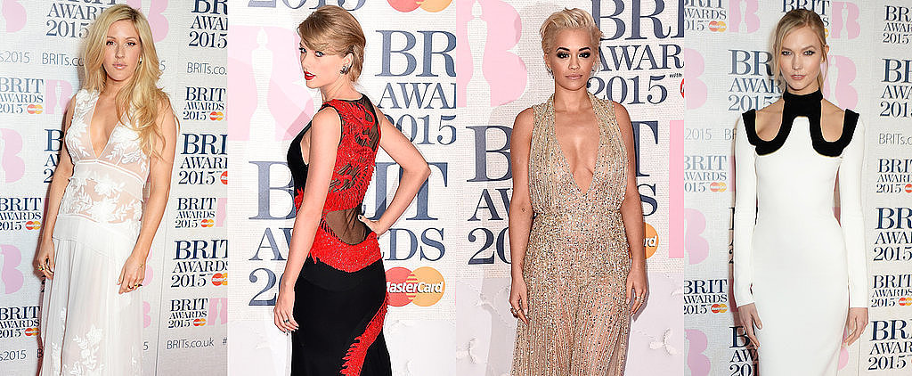 The Brit Awards Red Carpet Is More Glamorous Than Ever This Year
