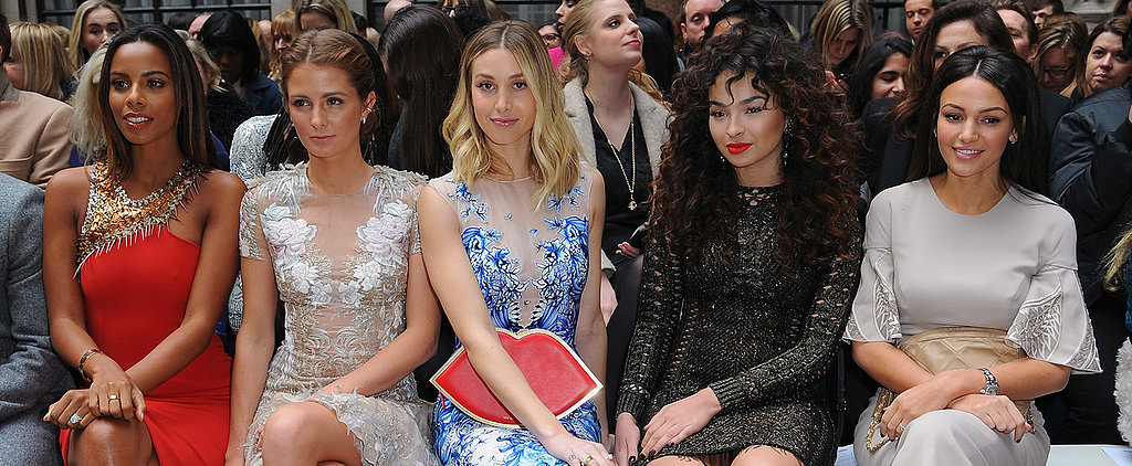 The Most Beautiful at London Fashion Week Were on the Glamorous #FROW