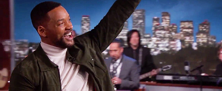 """Will Smith Revived His 1991 Hit """"Summertime"""" on Jimmy Kimmel Live!"""