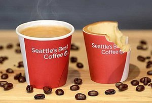 KFC to Test Edible Coffee Cups