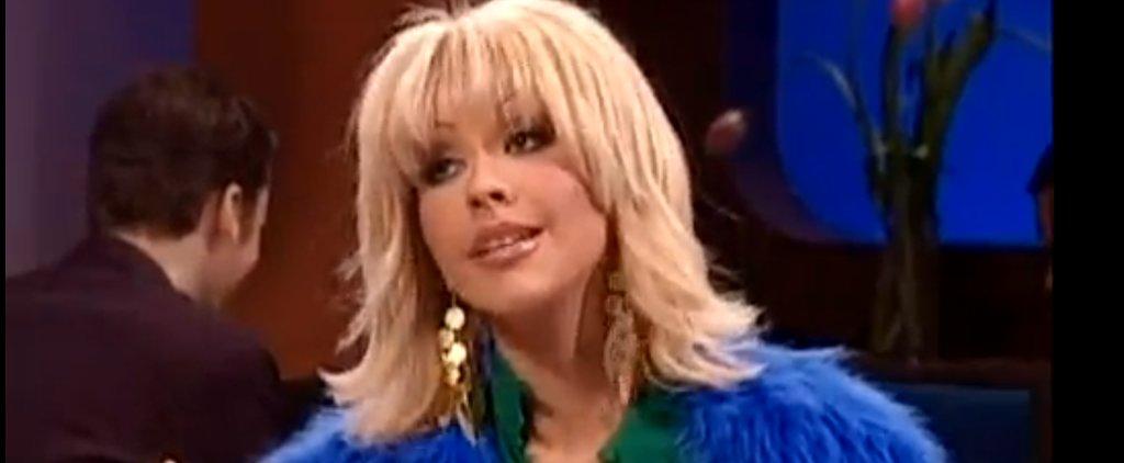 Relive Christina Aguilera's First Spot-On Samantha Jones Impression on SNL