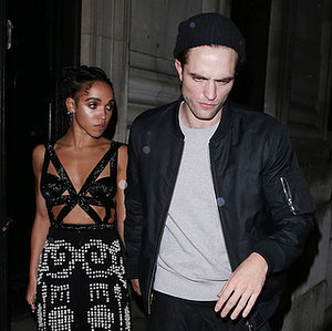 Robert Pattinson and FKA twigs hold hands after the BRIT Awards